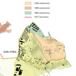 The Barolo boundaries along the years